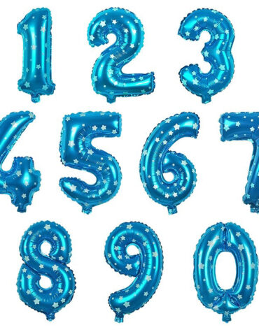 Wedding-Decoration-Blue-Stars-Pattern-0-9-Numbers-Foil-Balloons-Digit-air-Ballons-Birthday-Letter-balloon