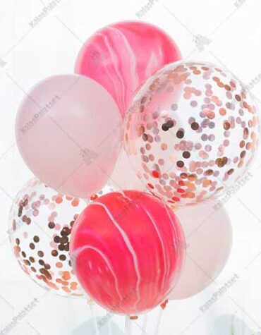 Ballongbuketter utan ställ