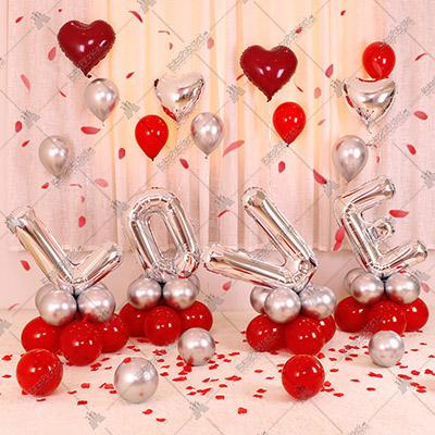 Hur får man folieballonger att stå upp – Del 2