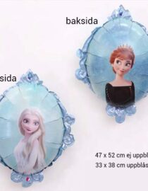 Folieballong, Spegel, Frost 2 #1