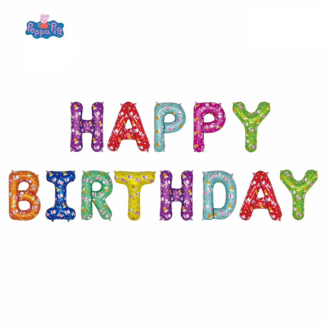 happy birthday folieballonger