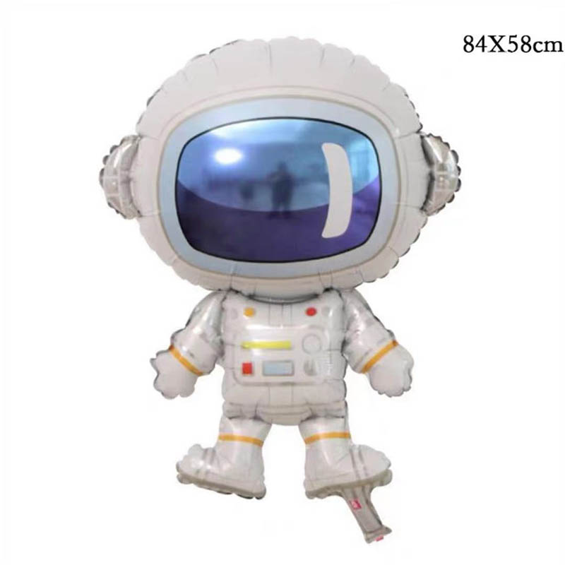 folieballong astronaut rymd