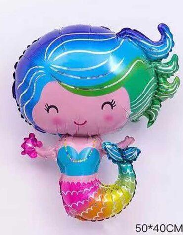 folieballong sjöjungfru