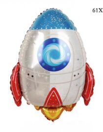 folieballong rymdraket