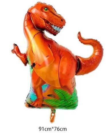 folieballong dinosaurie t-rex